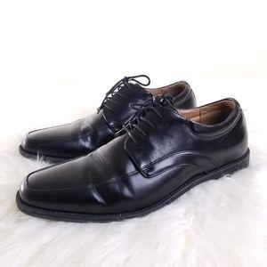 Nunn Bush 81058 Black Leather Oxfords Lace Up Shoe